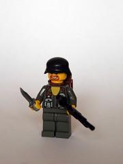 German Fallschirmjger (Hotcanon) Tags: canon lego minifigs brickizimo wwiiminifigs germanfallschirmjger