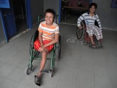(DIMITRI PILALIS;) Tags: city public smile hospital asian town asia asien khmer wheelchair patient health angkor enfant nio mekong province sant cadeira asiatic sante institution salud saude rodas sade kratie disable sozial kraches krati