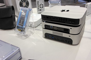 CES 2013 - OWC Mac mini external storage - min...