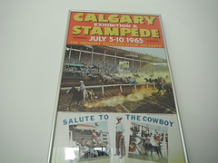 Calgary-Stampede-Posters-DSCF3823 (25) (Mr. Happy Face - Peace Folks :)) Tags: ranch horses streetart canada color calgary art history colors mall ads painting print advertising poster fairgrounds colorful ride ad picture july fair legendary advertisement alberta frame posters western northamerica rodeo rides recreation familyfun slideshow steer midway prairies citycenter pioneer infield heehaw stampede broncs artworks 1965 oldwest artistunknown street