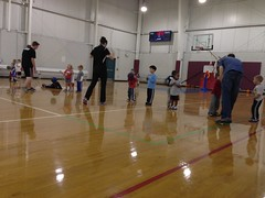 basketball class at Body Zone