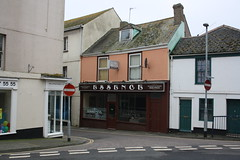 Essence (lazy south's travels) Tags: road street uk england building architecture restaurant britain indian south away devon take teignmouth