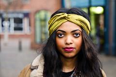 Mpau (83/100) Explored (drmaccon) Tags: street eyes nikon leicester longhair streetportrait style stranger explore nosering lipstick headband flickrexplore explored 100strangers d5100 mpau phototakenbyd5100