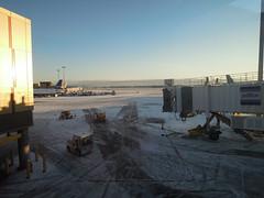 Wintry ramp (kevincrumbs) Tags: boston jetblue bos loganinternationalairport eastboston b6 kbos bostonloganinternationalairport