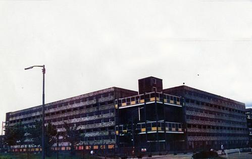 Gorbals Flats 1980s