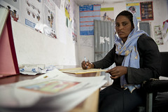 25 years old Marifa Yemam- Health Extension Worker (UNICEF Ethiopia) Tags: unicef ethiopia wollo