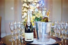 Tipsy Filmy Tuesday (Lilla~Rose) Tags: christmas camera film vintage 50mm champagne olympus ishootfilm vintagecamera analogue filmcamera nationaltrust zuiko htt basildonpark om2n zuikoautos50mm tipsytuesday