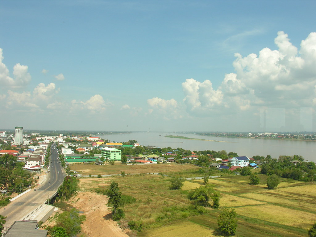 River views, Mukdahan, Northeast Thailand