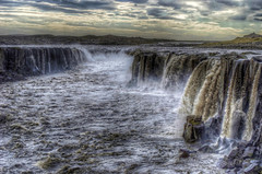 The Hell (Fil.ippo (AWAY)) Tags: travel fall water island waterfall iceland viaggio hdr filippo waterscape cascata selfoss islanda nkon d7000 filippobianchi