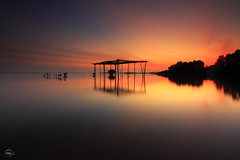 .:: # ::. (Fared Shamsuddin) Tags: city longexposure sunset sky cloud color reflection nature sunrise canon landscape cityscape malaysia leefilter canon50d gnd09 tokina1116mmf28 gnd06 bigstopper faredshamsuddin