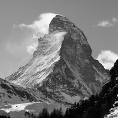 Matterhorn (boscoppa) Tags: mountain snow switzerland nikon zermatt matterhorn 18200vr d300s