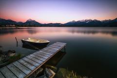 lake hopfensee (Robert_Freytag) Tags: geroldsee fuji lee sundown water lake long exposure