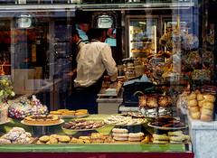 pleasures (margycrane) Tags: venice shop sweets shopwindow sweetshop wenecja