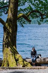 Petite pause (dodo-12-37) Tags: victoria canada bc ile de vancouver plage bernache panoramique oiseau cerf volant olympic mountain bouchart garden reflet fleurs arbre fontaine