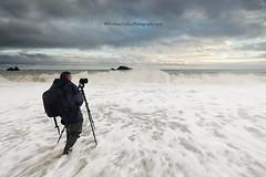 Seascape Workshop at Kilfarrasy Beach (Eimhear Collins) Tags: workshop seascapes coppercoast countywaterford dusk