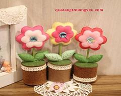 Kho tay lm chu hoa  bn xinh xn (nhungcandy96) Tags: lm qu handmade gift
