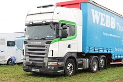 Scania R840 AY08 AWF Great Dorset Steam Fair 2016 (davidseall) Tags: scania r840 ay08 awf ay08awf great dorset steam fair 2016 truck lorry artic tractor unit haulage lgv hgv large heavy goods vehicle