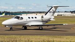 VH-NEQ-7035 (SydneyAeroSpotter) Tags: cessna citation plane airplane aircraft airport mustang sydney bankstown sunny aeroplane private jet