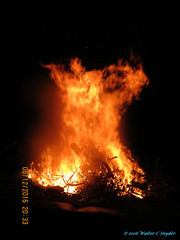Hell Fire...Satan Emerges (Walt Snyder) Tags: canonsx40hs satan satanic devil fire bonfire campfire flame firesprite firespirit firepixie endtimes apocalypse rapture armageddon malachi31921 hellfire