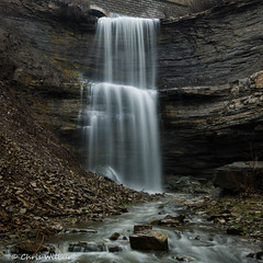 Buttermilk Falls (awaketoadream) Tags: ontario canada spring long niagara waterfall falls exposure high flow wet hamilton buttermilk escarpment
