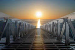 Just Kidding (martintimmann) Tags: see sun layers photoshop ocean bridge ozean sea
