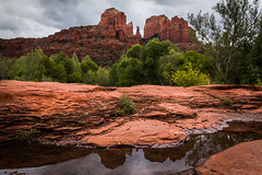 Stormy in Sedona (Eric Gail: AdventuresInFineArtPhotography) Tags: ericgail 21studios canon canon70d 70d explore interesting interestingness photoshop lightroom nik software landscape nature infocus adjust photo photographer cs6 topazlabs picture arizona sedona redrockcrossing