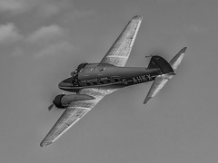 Avro Anson Nineteen - Old Warden (davepickettphotographer) Tags: theshuttleworthcollectionuk davepickettphotographer uk bedfordshire biggleswade airshow trust oldwarden pageant park avro anson nineteen monotone gb basystems owned monochromatic shuttleworth