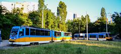 2 generations (sava.tashev1) Tags: transport sofia bulgaria publictransport pesa new lowfloor modern eco strasenbahn homemade bulgarian