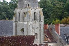 Azay-sur-Cher (Indre-et-Loire) (sybarite48) Tags: azaysurcher indreetloire france prieursaintjeandugrais clocher kirchturm steeple    campanario  campanile  toren wiey campanrio  ankulesi prieur priorat priory   priorato  prioria priorij klasztor  manastr