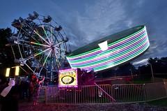 Fair Ride (Lojones13) Tags: fair dusk bronx newyork ride nikond7000 longexposure family outdoor bronxpark