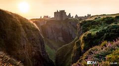 Dunnotar Castle Sunrise [IMG_0947] (GammyKnee) Tags: dunnotar castle sunrise rock rocky coast scotland aberdeenshire stonehaven grass hills ruin serene fairytale