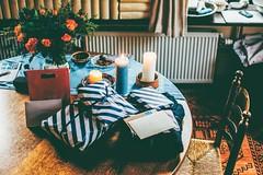 i am twenty-three now (ivvy million) Tags: birthday table presents ivvymillion gifts geschenke geburtstag interior esszimmer tisch flowers kerzen geburtstagstisch nikond7100 35mm