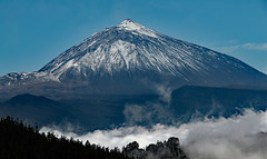 her majesty (werner boehm *) Tags: spain vulkan volcano clouds mountain wernerboehm teide teneriffa spanien