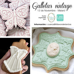 Nuevo curso de galletas decoradas / New cookie decorating class (www.littlewonderland.es) Tags: littlewonderland cursos classes workshops galletasdecoradas decoratedcookies reposteracreativa glasareal royalicing vintage rococuenca