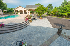 After 2016 (21) (The Sharper Cut Landscapes) Tags: belgardhardscapes patio pavers plantings paverdesign pool pavilion walkway steps seatwall retainingwall landscapedesign landscaping landscapecompany landscapelighting thesharpercutlandscapes thesharpercut