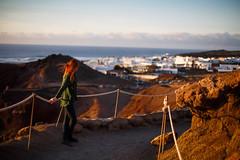 35 - El Golfo (escape.myself) Tags: lanzarote ginger ocean village travel traveller girl adventure wanderlust canaryislands