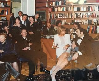 Michel Sogny Villa Schindler Reception après Concert