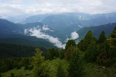 Carpathians (Goran Joka) Tags: fog mist aerosol carpathians retezat peleagu romania clouds sky mountain mountaineering hiking peaks summit trees landscape nature outdoor