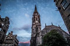 twilight on the royal mile (aprilpix) Tags: edinburgh streetscene scotland architecture twilight aprilpix