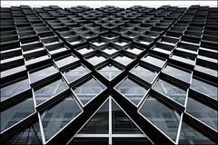 Scales (Maerten Prins) Tags: nederland netherlands eindhoven facade upshot window windows lines edges triangle reflection building modern new hartjerio geluidsscherm architecture diagonal pattern geometry geometric abstract explored