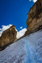 En route vers la brche. (Olivier Dgun) Tags: pyrnnes montagne neige neve brchederolland hautespyrnnes canon eos 700d 1585isusm france paysage randonne