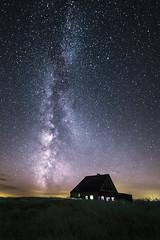 Une Maison dans l'Espace (PLF Photographie) Tags: milky way voie lacte galaxie galaxy nuit night long exposure exposition longue ciel toiles stars sky vosges france