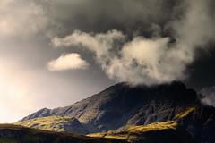 Bl Bheinn (Chris..Miles) Tags: blbheinn isleofskye mountain squall cuillin rock scotland