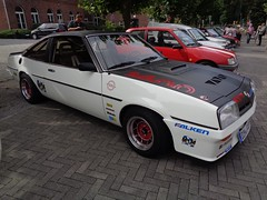 Opel Manta B (911gt2rs) Tags: treffen meeting show event tuning racing tief low stance oldschool coupe ats felgen sternfelgen 13 zoll berlina weis white