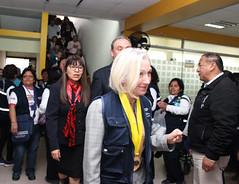 PER: Visita de la Directora Adjunta de OPS a Comas para conocer avances del Proyecto OPS/KOICA para disminuir la tuberculosis en apoyo a los gobiernos locales (Pan American Health Organization PAHO) Tags: comas tuberculosis ops koica