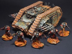 Sons of Horus Spartan Assault Tank (Redscorps) Tags: sonsofhorus spartan assault tank justaerin horusheresy