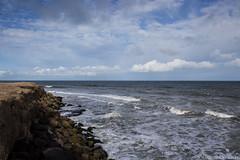 Miramar (Euge Ibero) Tags: argentina miramar mar sea seascape seashore sky clouds cloudscape stones cliff acantilados ocanoatlntico ocean olas waves