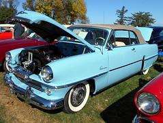 1954 Plymouth Belvedere Convertible (splattergraphics) Tags: 1954 plymouth belvedere convertible mopar carshow aacaeasterndivisionfallmeet antiqueautomobileclubofamerica aaca hersheypa