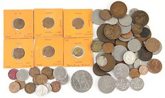 1007. Miscellaneous UK and British Commonwealth Coins