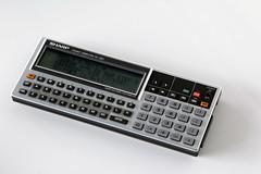 Sharp PC-1360 pocket computer (Keith Midson) Tags: vintage retro sharp calculator 1980s graphing pocketcomputer pc1360